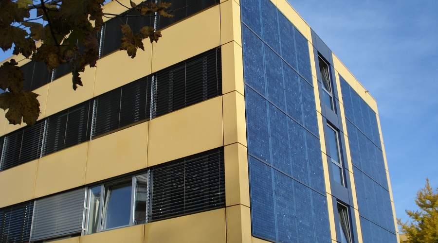 Panel Solar en Pared