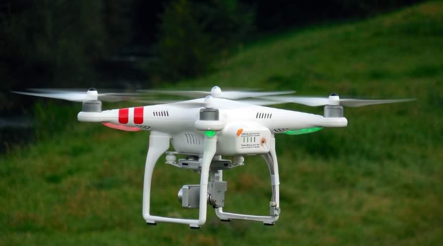 Drones cambio climático