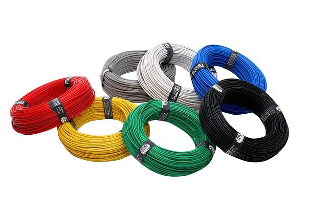 Colores de los cables eléctricos