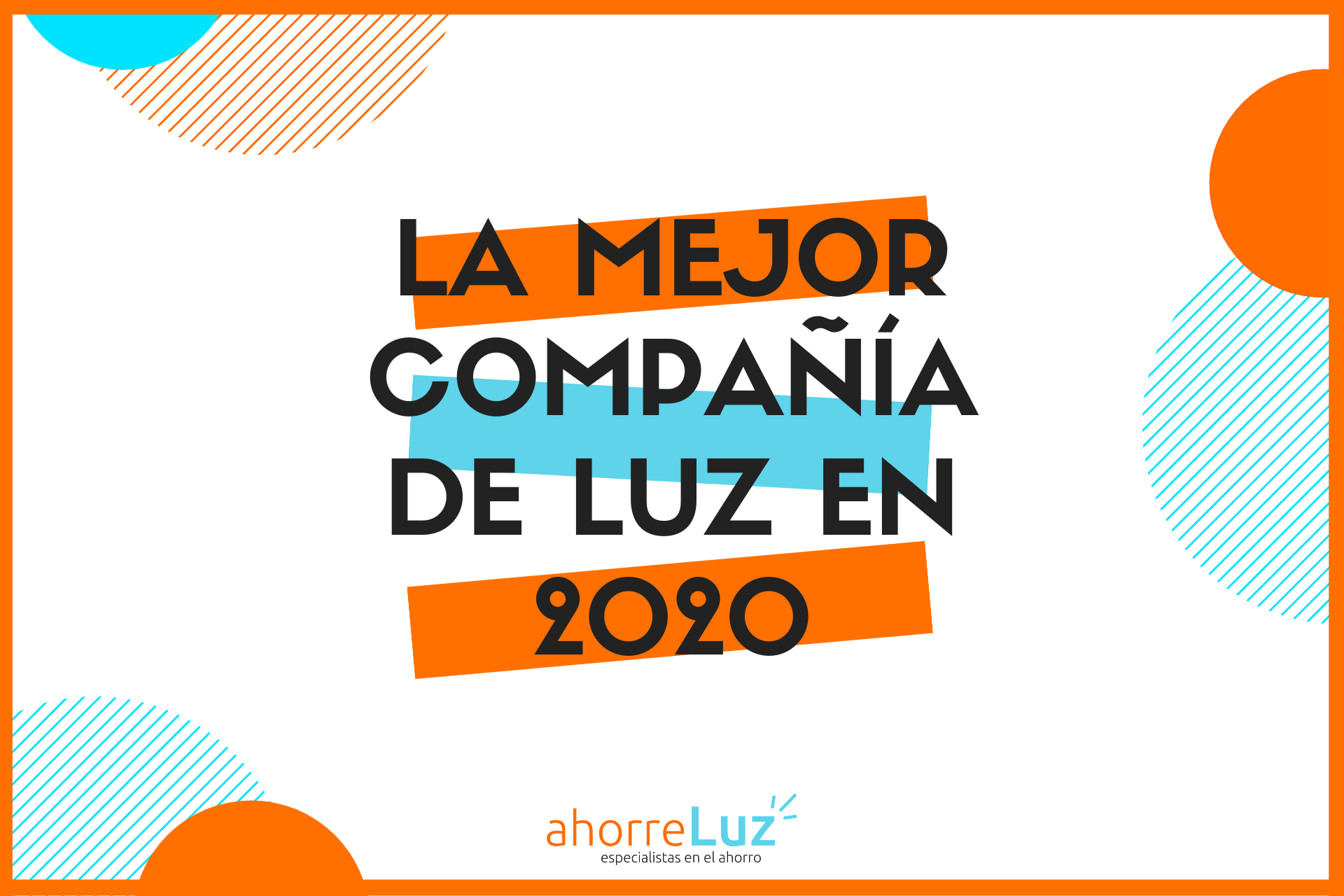 Mejor compania de luz 2020