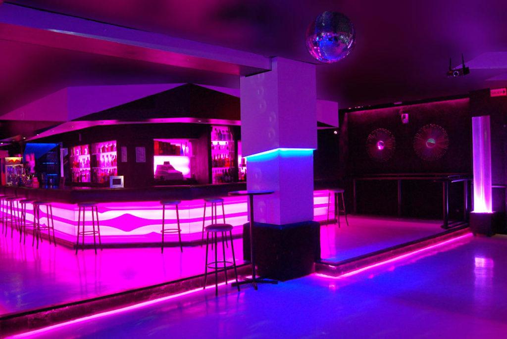 Iluminacion en discotecas