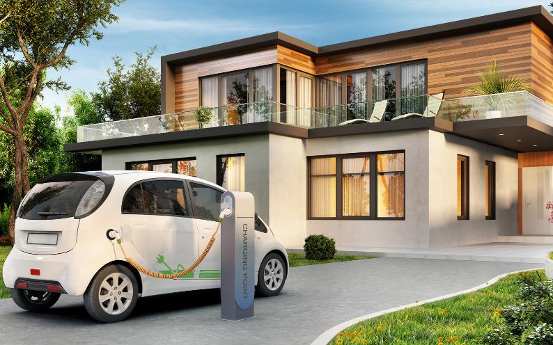 Como cargar un coche electrico en casa